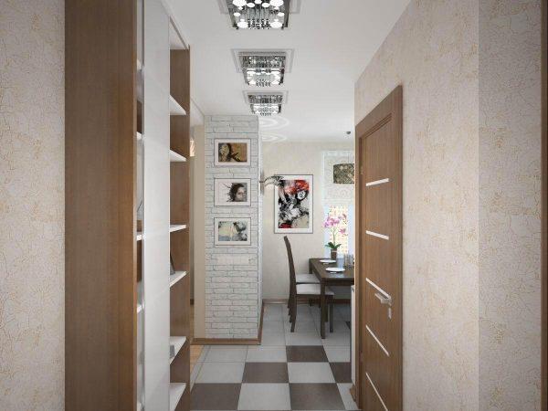 При правильном освещении и цветовой гамме стен, потолка и пола ваш коридор будет казаться большим и совсем непустым, а, наоборот, уютным