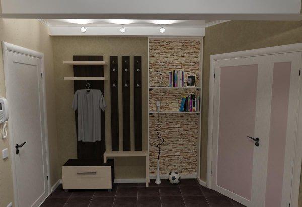 Подсветка поможет решить проблемы с высотой потолков, делая из низкого — высокий и наоборот