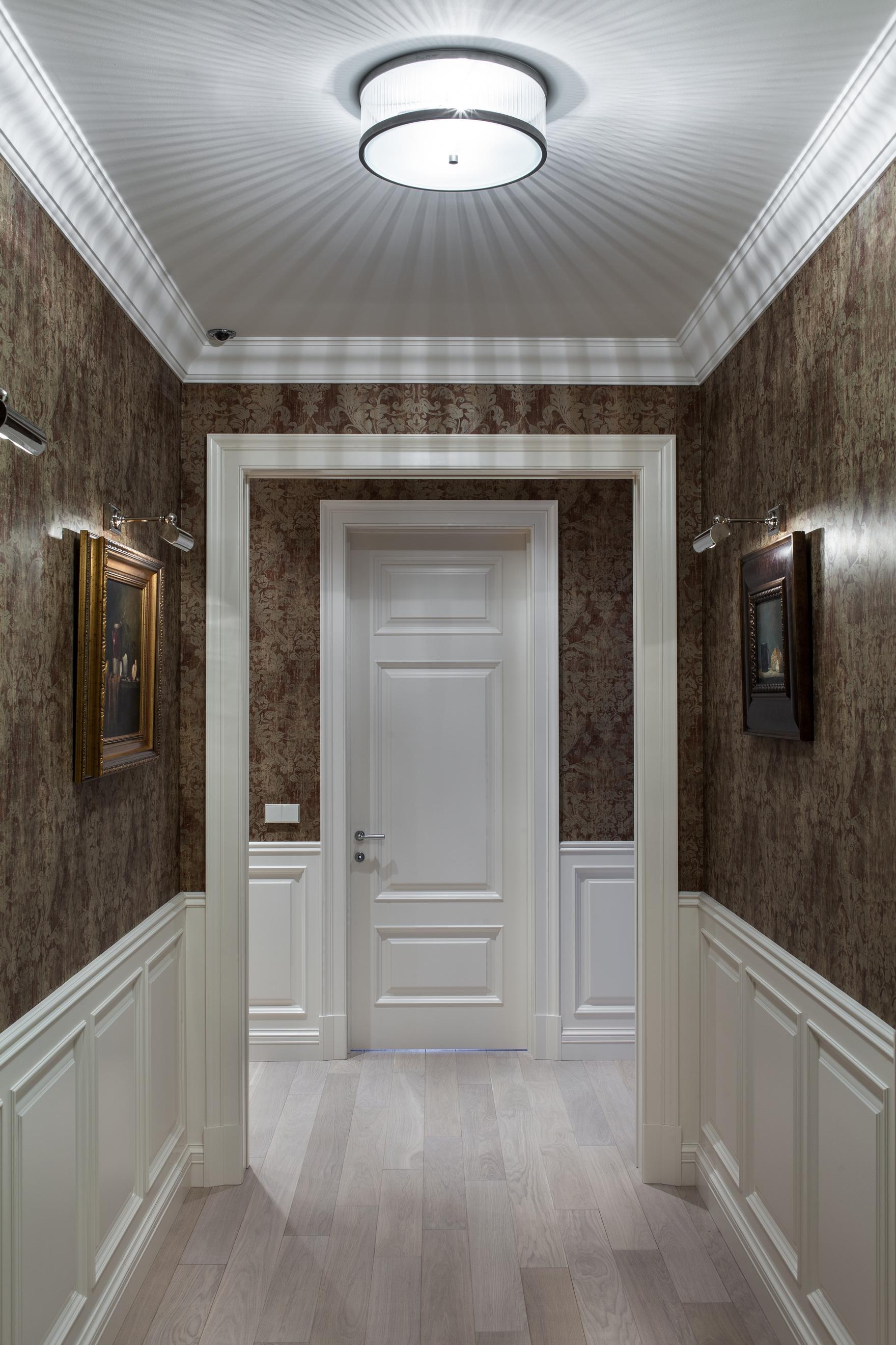 Интерьер прихожей коридора
