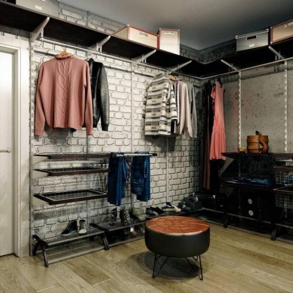 Мебель в стиле лофт - простая, функциональная и подходит к общей отделке помещения