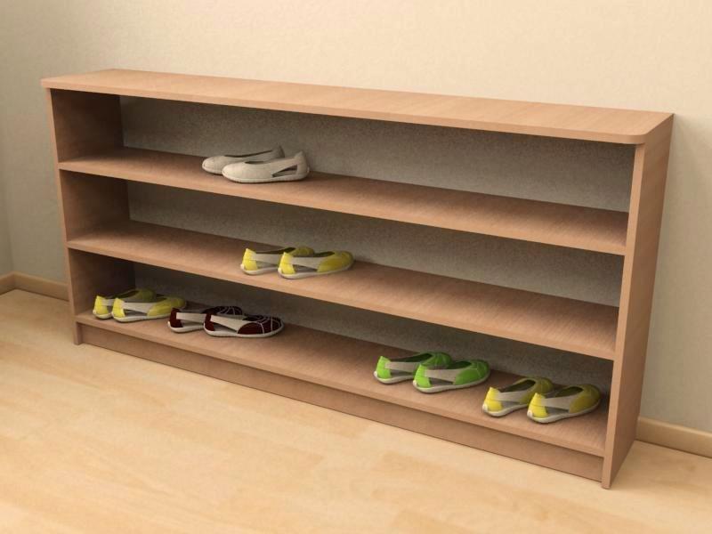 Своими руками обувная шкаф