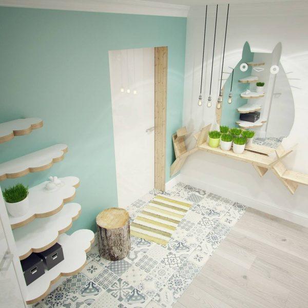 Грамотная отделка и подходящая мебель в прихожую, визуально расширит комнату