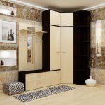 Пример шкафа для прихожей малогабаритной квартиры