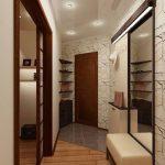 Дизайн прихожей для узкого коридора - фото интерьеров и выбор мебели