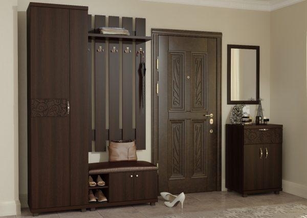 Функциональный набор мебели для прихожей