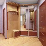 Шкафы купе в прихожую внутренней глубиной 40 см