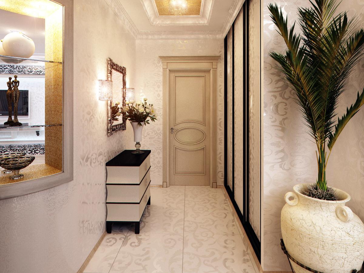 Дизайн маленькой узкой прихожей в квартире фото реальные