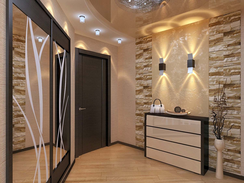 Дизайна бра в малогабаритной квартире
