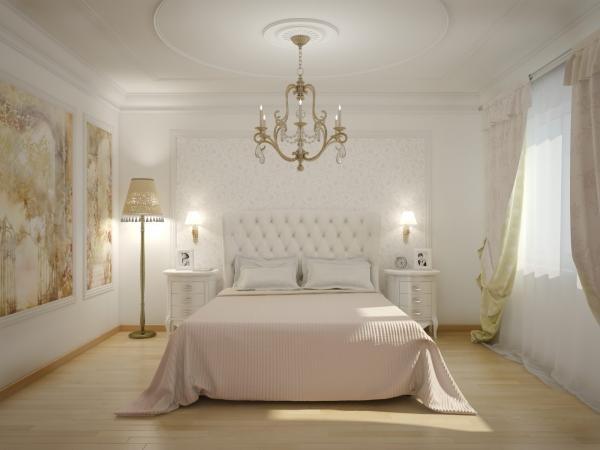 Роскошный интерьер: Оформляем спальню в классическом стиле