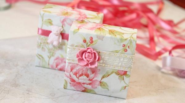 Как красиво оформлять подарки 555