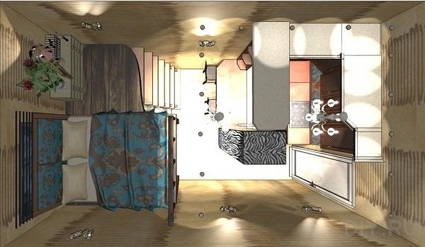 Варианты перепланировки 3 комнатной квартиры - Сделай