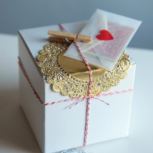 Как украсить подарок на день рождения своими руками 9