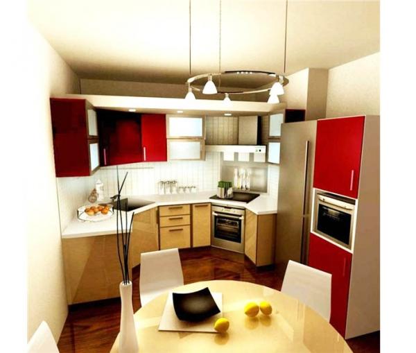 Дизайн и интерьер кухни в 9 кв
