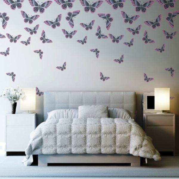 Трафареты бабочек из бумаги для декора стен: создайте удивительный дизайн своими руками!