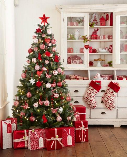 Как украсить новогоднюю елку (40 фото): необычное и традиционное оформление
