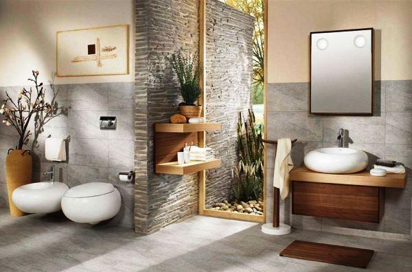 Как использовать искусственный камень в дизайне комнат: фото оригинальных интерьеров