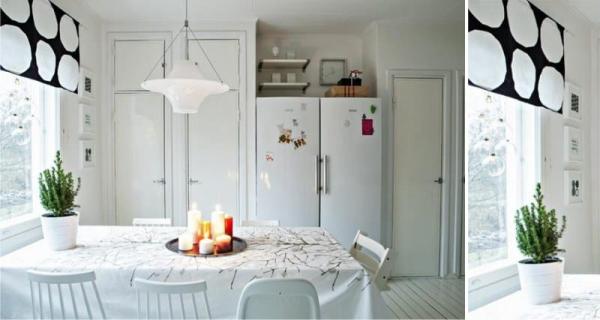 Как выбрать идеальные короткие шторы для кухни
