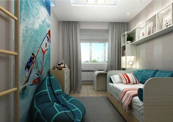 Дизайн комнаты для мальчика 13 лет фото