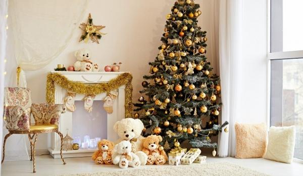 декор квартиры на новый год фото