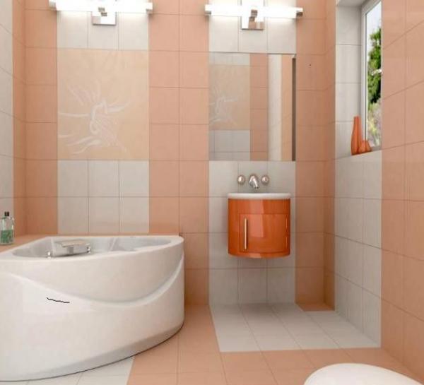Отделка ванной комнаты плиткой