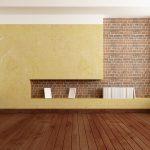 Декоративная штукатурка как один из вариантов отделки стен в прихожей