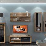 Современная модульная мебель для гостиной: варианты дизайна и комплектации