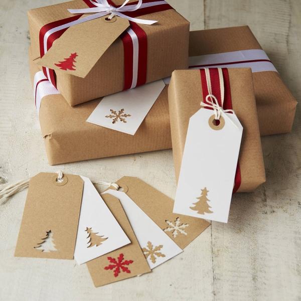 Упаковка подарков лентой как 539