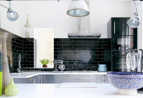Backsplash subway tile for kitchen