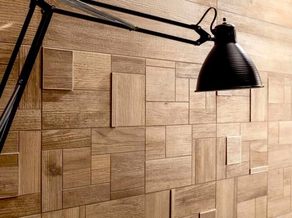 Необычное решение: Плитка на стенах в коридоре