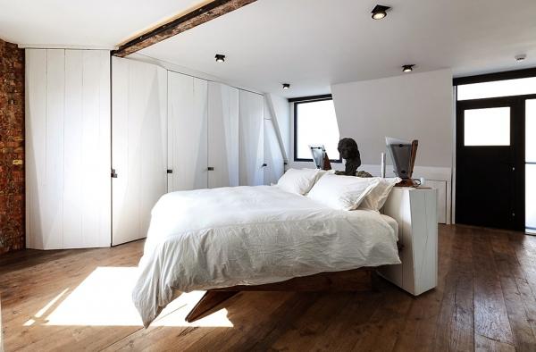Индустриальный дизайн: Оформляем спальню в стиле лофт