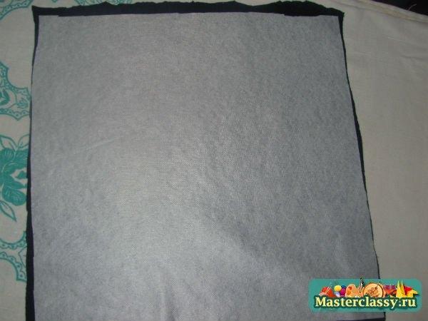 Диванная подушка своими руками: Мастер-класс