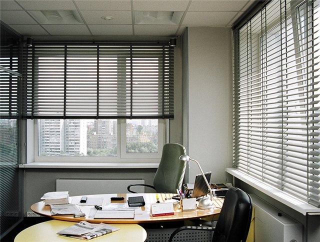 Жалюзи в интерьере дома и офиса