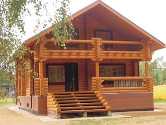 Достойные деревянные дома – мечта многих людей