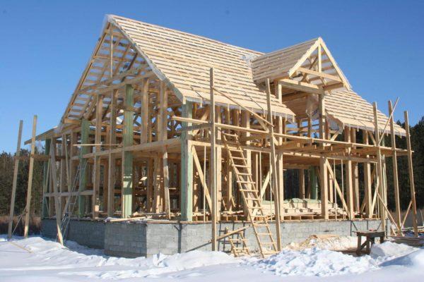 Возведение каркасных домов: технология строительства