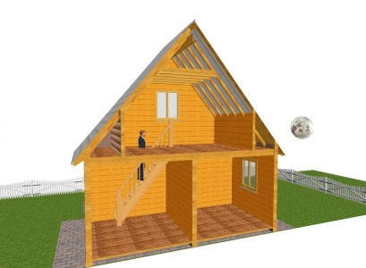 Проекты для строительства дачных домов