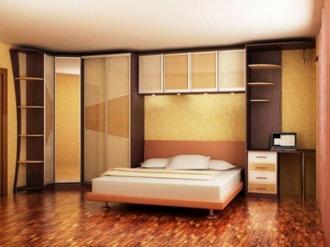 Как подобрать мебель для маленькой спальни
