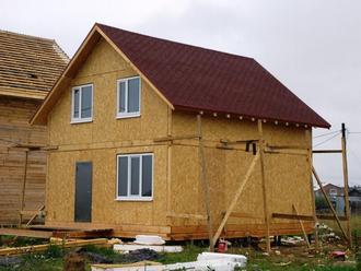Энергосберегающие дома. Строительство из СИП
