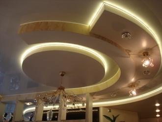 Как выбрать дизайн потолков из гипсокартона?