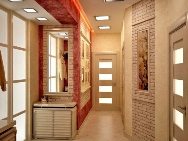 Дизайн прихожей квартиры стандартного панельного дома после перепланировки