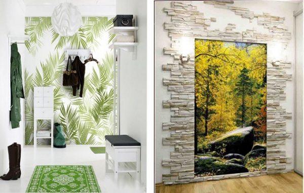 Фотообои 3д на стену для прихожей являются прекрасным вариантом оформления стен в помещении