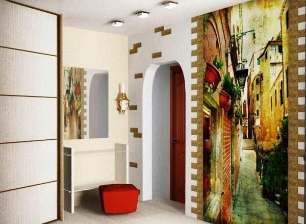 Стиль рисунка должен совпадать с общим стилем помещения.